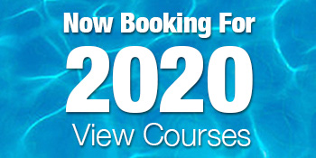 Now Booking for 2020 see course list