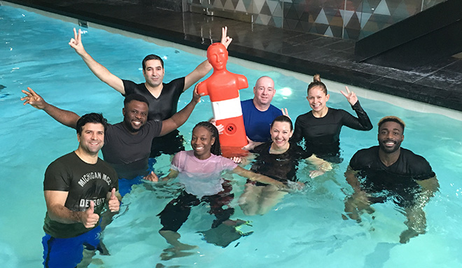 Aquatic Training Courses Pool Empergency Responders