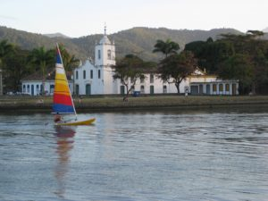 Sailing in Paraty, Brazil 2015