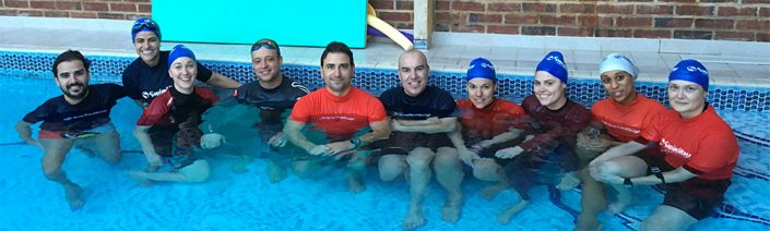 SwimWay Instructors Safety Award for Teachers lifesaving qualification