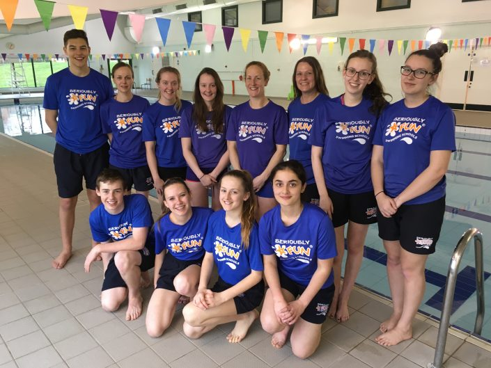 Safety Award for Seriously Fun Swim School, Oxted, 31 March Tutor: Dave Perry. Organiser: STA Excel